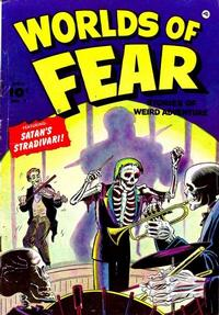 Cover Thumbnail for Worlds of Fear (Fawcett, 1952 series) #7