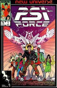 Cover Thumbnail for Psi-Force (Marvel, 1986 series) #1 [Direct]
