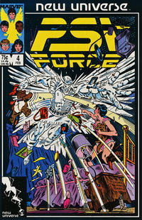 Cover Thumbnail for Psi-Force (Marvel, 1986 series) #4 [Direct]