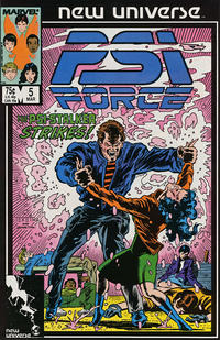 Cover Thumbnail for Psi-Force (Marvel, 1986 series) #5 [Direct]
