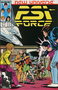 Cover Thumbnail for Psi-Force (Marvel, 1986 series) #12 [direct]