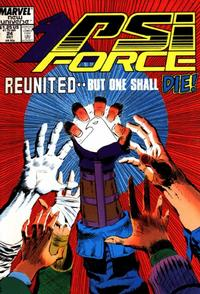 Cover Thumbnail for Psi-Force (Marvel, 1986 series) #24