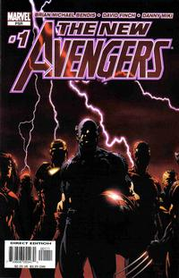 Cover Thumbnail for New Avengers (Marvel, 2005 series) #1 [Direct Edition]