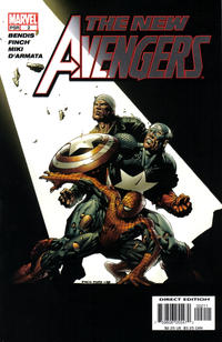 Cover Thumbnail for New Avengers (Marvel, 2005 series) #2 [Direct Edition]