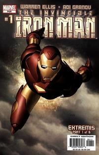Cover Thumbnail for Iron Man (Marvel, 2005 series) #1