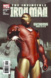 Cover Thumbnail for Iron Man (Marvel, 2005 series) #2