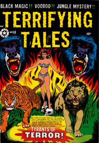 Cover Thumbnail for Terrifying Tales (Star Publications, 1953 series) #11