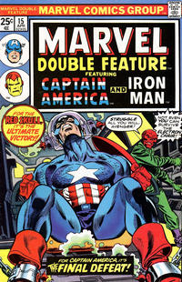 Cover Thumbnail for Marvel Double Feature (Marvel, 1973 series) #15 [25¢]