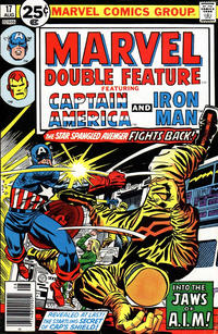Cover Thumbnail for Marvel Double Feature (Marvel, 1973 series) #17 [25¢ Cover Price]