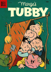 Cover for Marge's Tubby (Dell, 1953 series) #14
