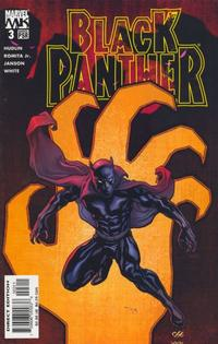 Cover for Black Panther (Marvel, 2005 series) #3 [Direct Edition]