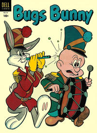 Cover Thumbnail for Bugs Bunny (Dell, 1952 series) #37
