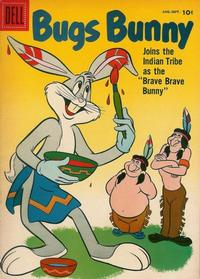 Cover Thumbnail for Bugs Bunny (Dell, 1952 series) #56