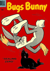 Cover Thumbnail for Bugs Bunny (Dell, 1952 series) #58