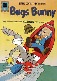 Cover Thumbnail for Bugs Bunny (Dell, 1952 series) #80
