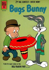 Cover Thumbnail for Bugs Bunny (Dell, 1952 series) #81