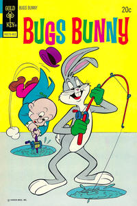 Cover Thumbnail for Bugs Bunny (Western, 1962 series) #155 [Gold Key Variant]