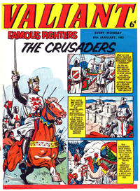 Cover Thumbnail for Valiant (IPC, 1962 series) #19 January 1963 [16]