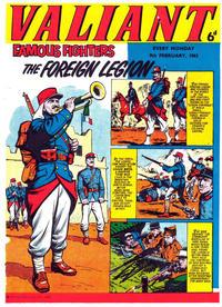 Cover Thumbnail for Valiant (IPC, 1962 series) #9 February 1963 [19]
