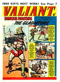 Cover Thumbnail for Valiant (IPC, 1962 series) #16 February 1963 [20]