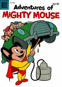 Cover Thumbnail for Adventures of Mighty Mouse (Dell, 1959 series) #147