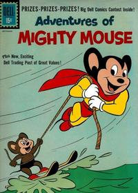 Cover Thumbnail for Adventures of Mighty Mouse (Dell, 1959 series) #151