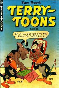 Cover Thumbnail for Terry-Toons Comics (St. John, 1947 series) #81
