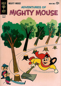 Cover Thumbnail for Adventures of Mighty Mouse (Western, 1962 series) #157