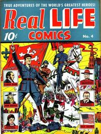 Cover Thumbnail for Real Life Comics (Pines, 1941 series) #v2#1 (4)