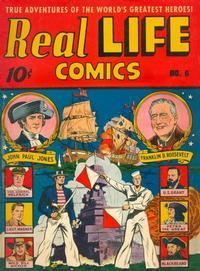 Cover Thumbnail for Real Life Comics (Pines, 1941 series) #v2#3 (6)