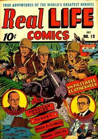 Cover Thumbnail for Real Life Comics (Pines, 1941 series) #v4#3 (12)