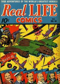 Cover Thumbnail for Real Life Comics (Pines, 1941 series) #16