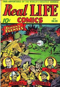 Cover Thumbnail for Real Life Comics (Pines, 1941 series) #23