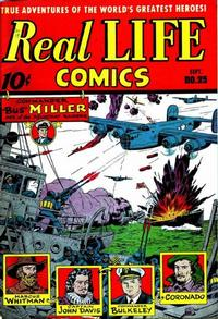 Cover Thumbnail for Real Life Comics (Pines, 1941 series) #25