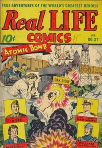 Cover Thumbnail for Real Life Comics (Pines, 1941 series) #27