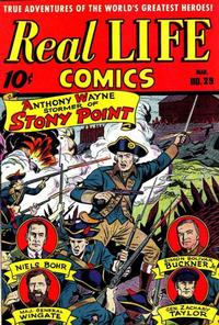 Cover Thumbnail for Real Life Comics (Pines, 1941 series) #29