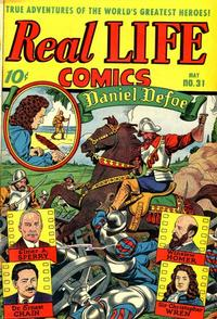Cover Thumbnail for Real Life Comics (Pines, 1941 series) #31