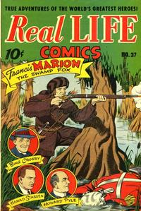 Cover Thumbnail for Real Life Comics (Pines, 1941 series) #37