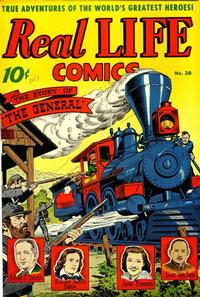 Cover Thumbnail for Real Life Comics (Pines, 1941 series) #38