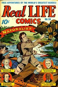 Cover Thumbnail for Real Life Comics (Pines, 1941 series) #39