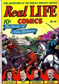 Cover Thumbnail for Real Life Comics (Pines, 1941 series) #40
