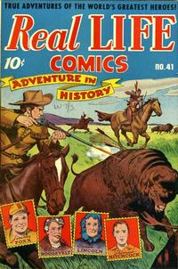 Cover Thumbnail for Real Life Comics (Pines, 1941 series) #41