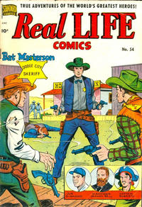 Cover Thumbnail for Real Life Comics (Pines, 1941 series) #54