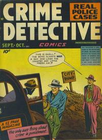Cover Thumbnail for Crime Detective Comics (Hillman, 1948 series) #v1#4