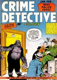 Cover Thumbnail for Crime Detective Comics (Hillman, 1948 series) #v1#6