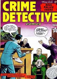 Cover Thumbnail for Crime Detective Comics (Hillman, 1948 series) #v1#8