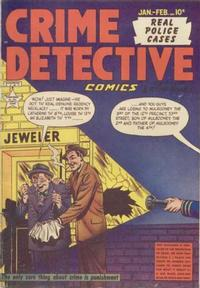 Cover Thumbnail for Crime Detective Comics (Hillman, 1948 series) #v1#12