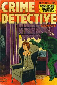 Cover Thumbnail for Crime Detective Comics (Hillman, 1948 series) #v2#10