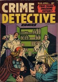 Cover Thumbnail for Crime Detective Comics (Hillman, 1948 series) #v3#1