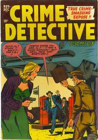 Cover Thumbnail for Crime Detective Comics (Hillman, 1948 series) #v3#5